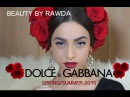 TRENDDolceGabbana S/S 2015 Makeup Look BEAUTY BY RAWDAA
