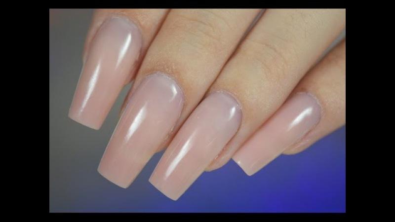 Быстрая коррекция гелевых ногтей в домашних условиях