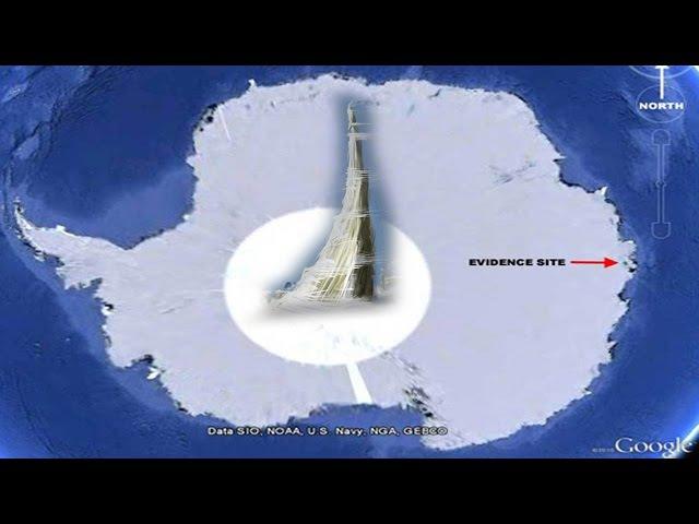ЛЕТАЮЩИЕ ТАРЕЛКИ ВМЕРЗЛИ В ЛЕД АНТАРКТИДЫ! Базы НЛО в Антарктиде