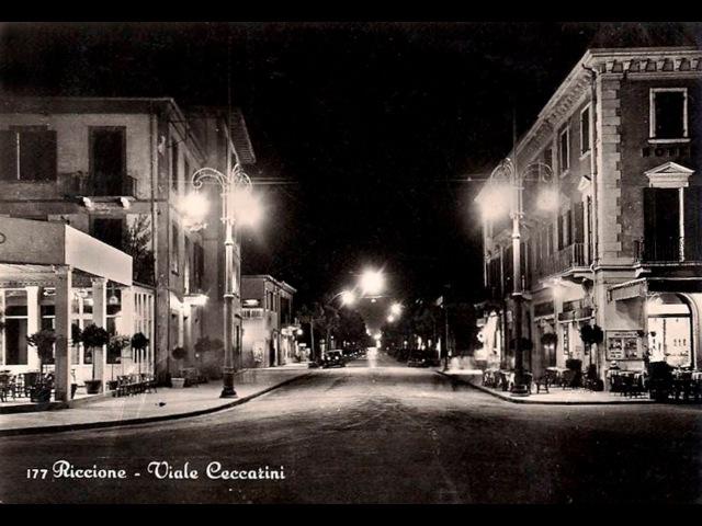 Riccione на старых открытках
