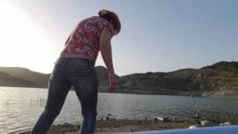 Рыбалка на Парашут.Карп ,Басс.Кипр дамба Kalavasos