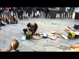 DARIO ROSSI DRUMMER -full set- Firenze, Piazza della republica 09-04-16