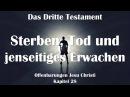 28. STERBEN, TOD JENSEITIGES ERWACHEN ❤️ DAS DRITTE TESTAMENT ❤️ Offenbarungen Jesu Christi