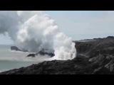 Крупнейших вулкан Килауэа оказался особенно активным.на Земле. The largest volcano of Kilauea.
