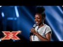 Rai-Elle Williams goes big on Bridge Over Troubled Water   Six Chair Challenge   The X Factor 2017