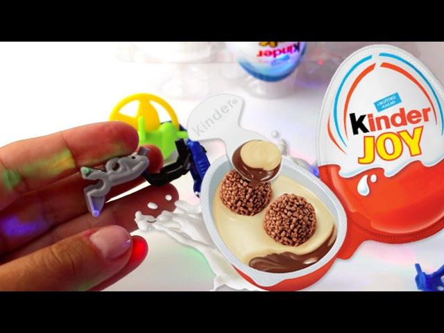 Kinder Joy eggs surprise toys/ Киндер Джой яйца с сюрпризом