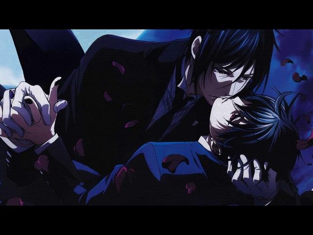 AMV Темный дворецкий яой Себастьян/Сиэль / Black Butler Kuroshitsuji yaoi Sebastian/Ciel