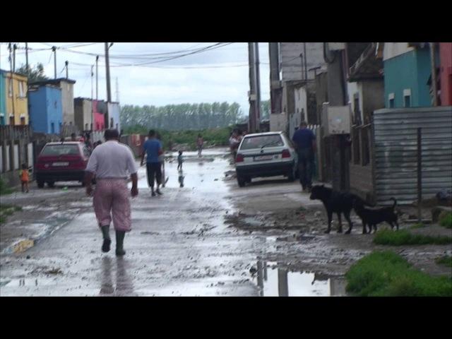 Evrope Po každom daždi je Pažitná ulica zaplavená