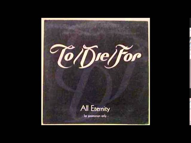 To/Die/For - It's A Sin (Pet Shop Boys Cover)