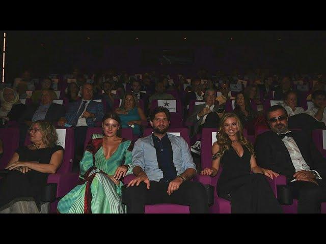 Yeni Gelin Gizem Karaca 'Ay Lav Yu Tu' Filminin Gala Gecesinde