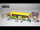 Lego City 60154 Bus Station Speed Build
