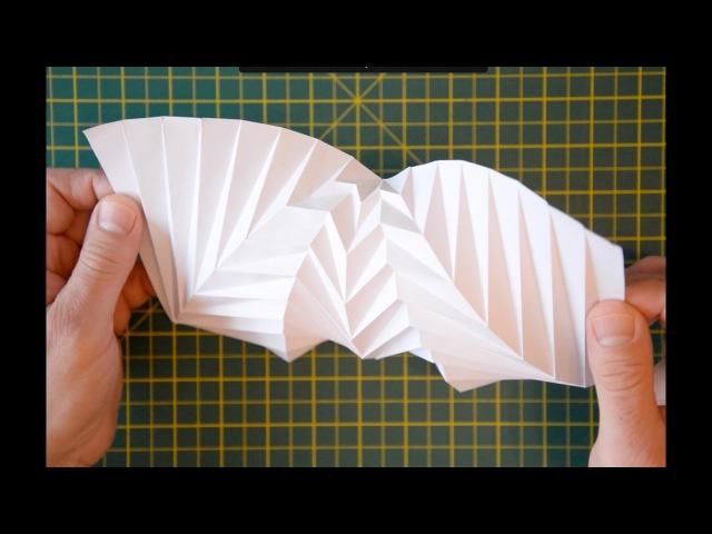 Hyperbolic Origami?