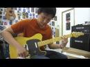 อ.โอ๋ ลองกีตาร์ Schecter PT Standard 2015 Butterscotch Blonde Guitar Clean Sound