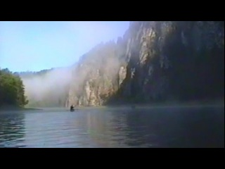 Сплав по реке Чусовой на байдарках. 1996 год.