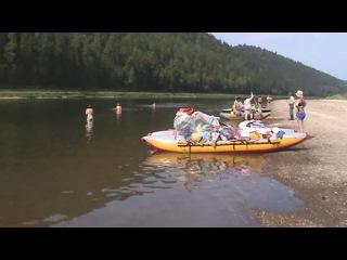 Сплав по реке Уфа в 2012 году. Клуб туристов Уралмаш