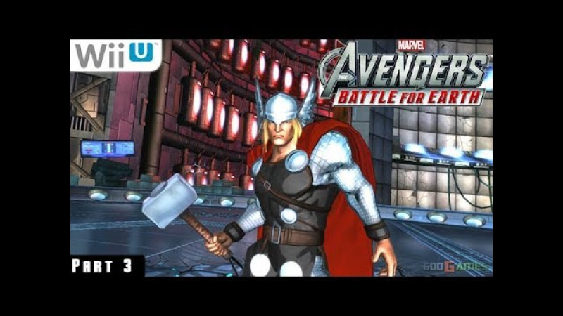Marvel Avengers Battle for Earth - WiiU Gameplay 1080p part 3 (The Peak)