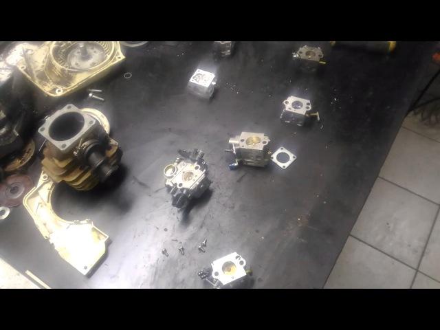 Диагностика карбюратора с подкачкой,на подсос воздуха
