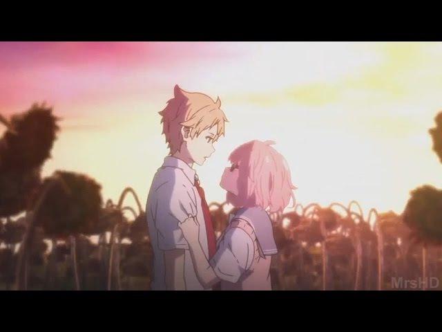 Kyoukai No Kanata - Kiss Scene HD