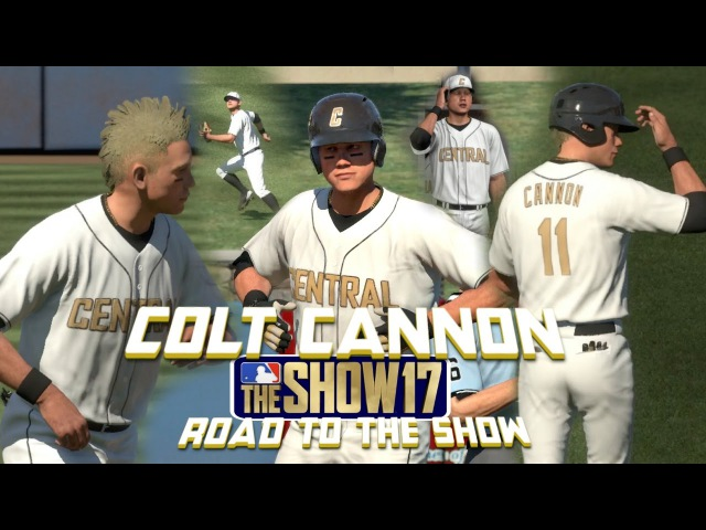 MLB The Show 17 Colt Cannon Road To The Show Left Fielder EP2 Showcase Game 2 and MLB Draft! MLB 17