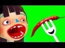 ГОТОВКА ЧЕЛЛЕНДЖ 13 Хэллоуин / Мультяшная игра в развлекательном видео для детей ПУРУМЧАТА