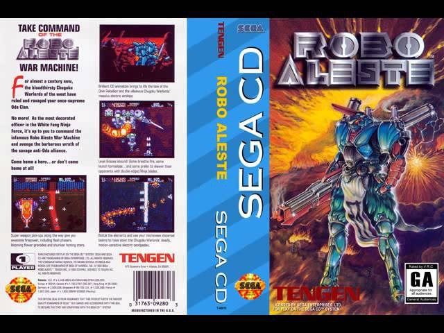Robo Aleste Sega CD Music Soundtrack