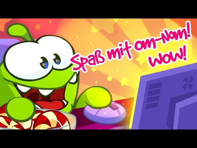 ALLE FOLGEN von OMNOM auf Deutsch🎉Om Nom Video Blog 🍭Om Nom Stories/Zeichentrickfilme für Kinder