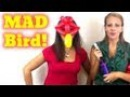SISTERS make MAD BIRD Balloon Animals!