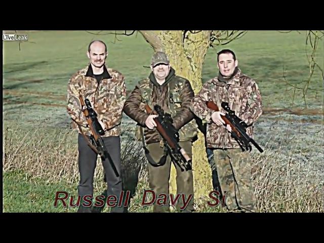 Охота на крыс с пневматической винтовкой и прицелом ночного видения