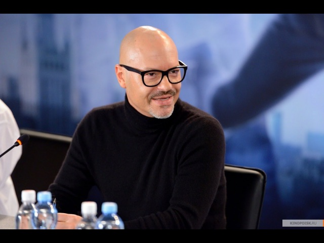 Федор Бондарчук, Ян Цапник и Семен Трескунов на съемках клипа к «Призраку»