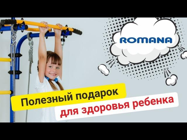 ROMANA Карусель Комета-5 - шведская стенка для крепления без сверления стен