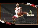 LeBRON JAMES all dunks [NBA 2K6 - NBA 2K17] 🏀