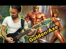 Golden Axe I II III OST Mega Metal Cover Sega genesis game by Progmuz