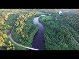 Река Кема. Посёлок Бонга, Вологодская область.