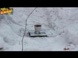 Термитная шашка против листового железа 4 Термит - Homemade thermite