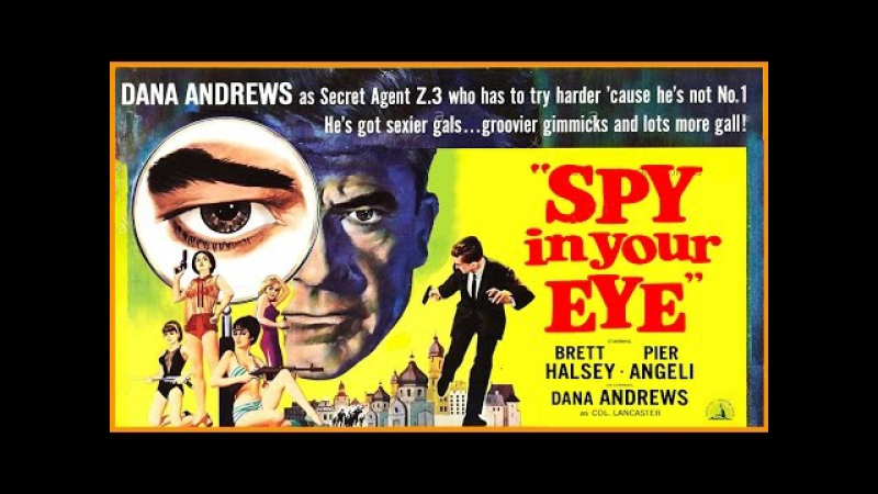 Spy In Your Eye (Bang Youre Dead) (1965) Dana Andrews, Pier Angeli (Berlin, Appointment for the Spies)