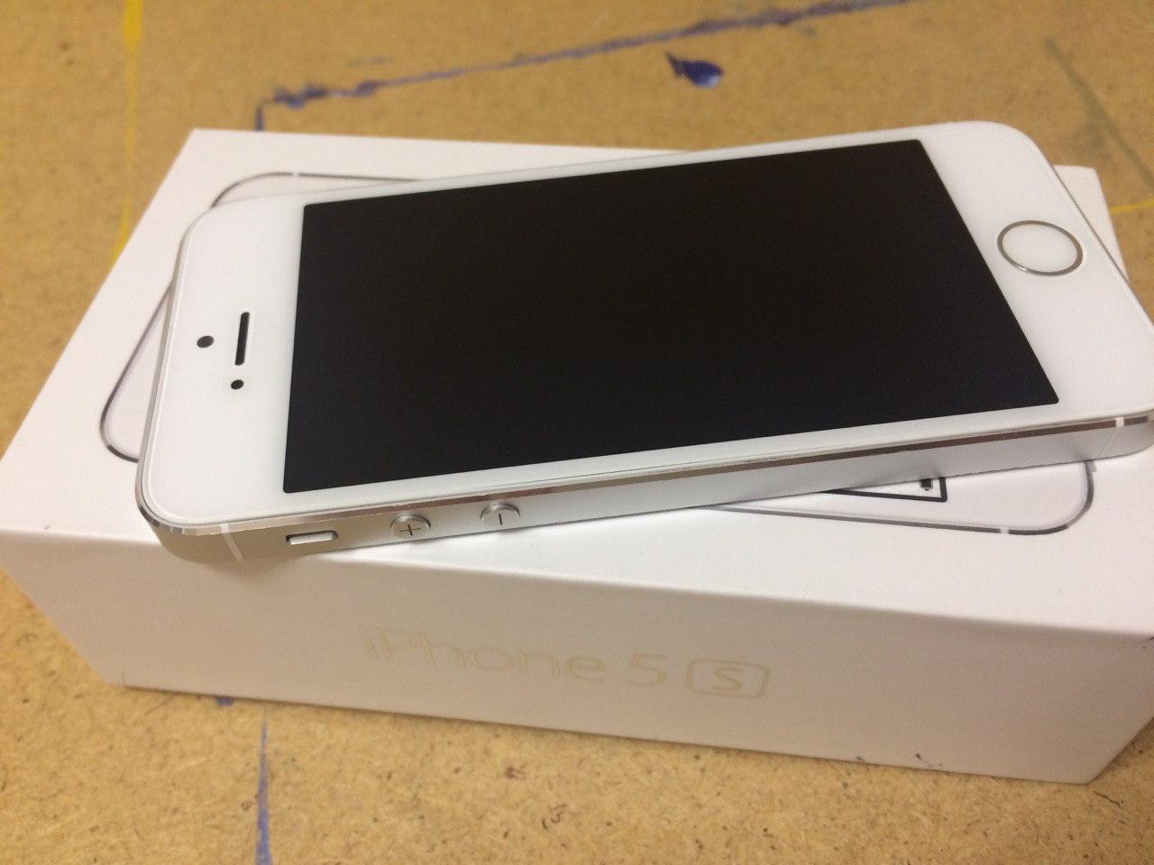Продам iphone 5s 16gb белый