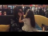 Филипп Киркоров с дочкой Аллой-Викторией на открытии детского ресторана Максима Фадеева и Эмина Агаларова У дяди Макса