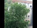 Только пришли домой и лупанул дождяра! 😱😱😱... Москва 30.06.2017