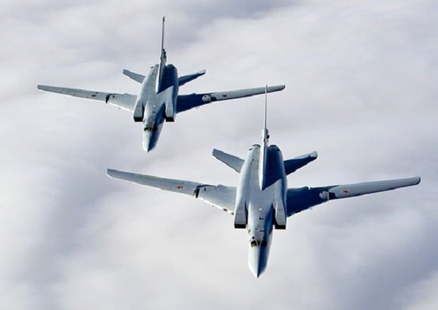 Россия применила ракетоносцы Ту-22М3 для удара по террористам в Сирии