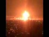 Взрыв заправки на ул. Булача г. Махачкала (2)