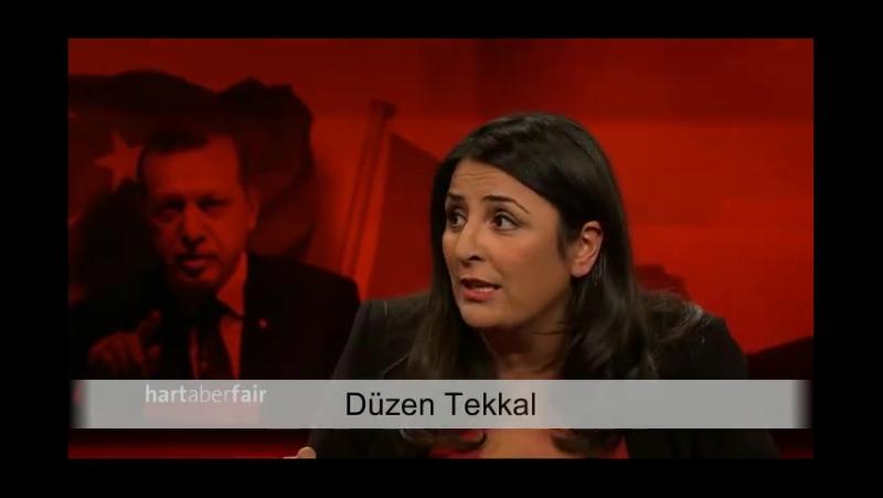 2017-03-13 ARD, Hart aber Fair, Düzen Tekkal: Hier Freiheit leben, dort Erdogan wählen - wie passt das zusammen?