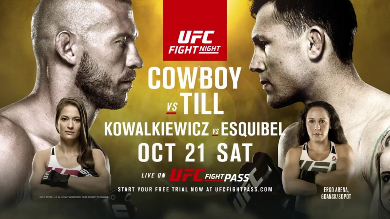 UFC Fight Night Gdansk_ Cowboy vs Till