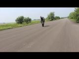 Aras Gibieza - Switchback wheelie   Стантрайдинг