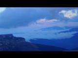 Тхач в облаках на закате. По дороге с Оштена 12-11-2016