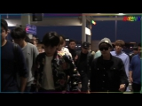 170519 BTS captured on their way to Las Vegas to attend Billboard Music Awards