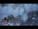 Dark Souls 3. Великий волк, хранитель могилы чемпиона.