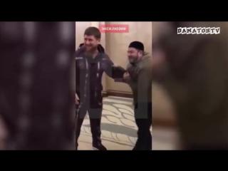 Кадыров и Галустян репитируют пародию