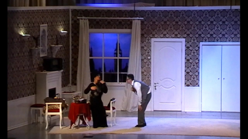 Фрагмент спектакля Р.Куни Он, она, окно и...