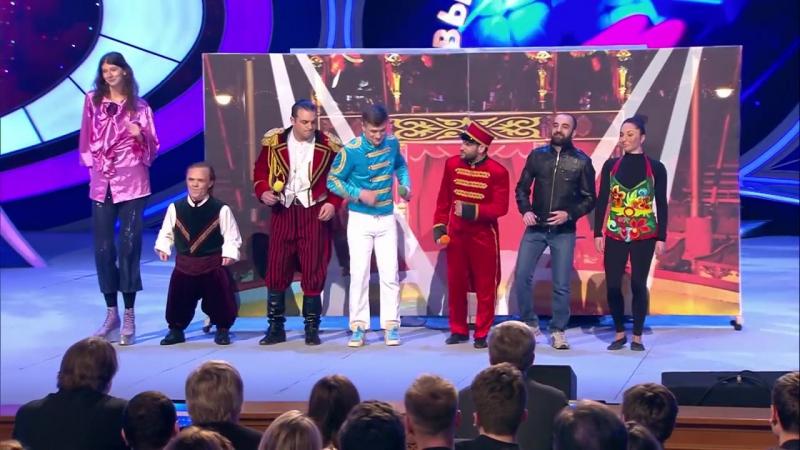 можете сравнить музыка у команды квн большой московский цирк хуже будет