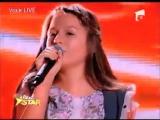 Румынская девочка 12 лет перепела Пугачёву
